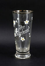 "99835276 Souvenir Glass Silver Wedding "" Der Silberbraut """