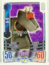 #047 K-9 - Alien Attax Doctor Who - 50th Anniversary
