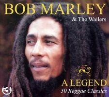 BOB MARLEY - A LEGEND - 50 REGGAE CLASSICS  (NEW SEALED 3CD SET)