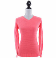Tommy Hilfiger Women Long Sleeve Pullover V-Neck Sweater - Free $0 Ship