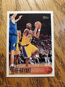 1996-97 Topps #138 Kobe Bryant RC - Lakers