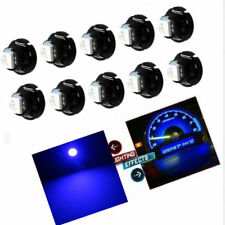 10x Blue T4.7 T5 Neo Wedge 5050 LED Bulbs Dash Control Instrument Base Light