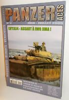 Panzer Aces No.2 - 2005 (French Text) - 66 Pages. (Book)