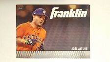 2016 Topps Franklin #TF-6 Jose Altuve Baseball Card