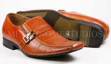 Delli Aldo Men's Pre-Owned Brown Slip On Loafers Dress Classic Shoes 7.5 us