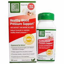 BELL Master Herbalist HEALTHY BLOOD PRESSURE SUPPORT #26 Fish Peptide 60 Caps