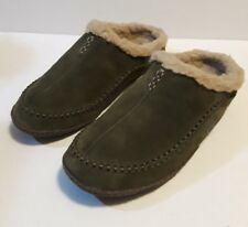 Pre-owned Men's Size 13 Suede Sorel Falcon Ridge Slippers