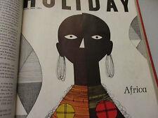 Africa Swahili Italy Arthur C Clarke Moon Vintage Travel Holiday Magazine 1959