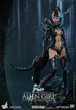 Hot Toys Alien vs Predator AVP Hot Angel Alien Girl 1/6 Scale Figure In Stock