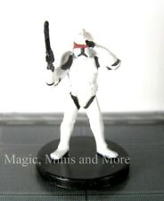 Galaxy at War ~ CLONE TROOPER With NIGHT VISION #22 Star Wars miniature  WotC