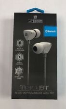 LW Tech Trio BT Bluetooth Earbuds With Mic 3 Ft Cord