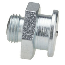 M10 x 1,5 [100 Stück] DIN 3404 Ø16mm Flachschmiernippel Stahl verzinkt