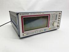 Rohde Amp Schwarz Sme03 B19 5khz 30ghz Signal Pattern Frequency Generator Parts