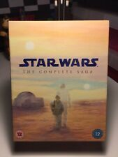 Star Wars - The Complete Saga (Blu-ray, 2011, 9-Disc Box Set