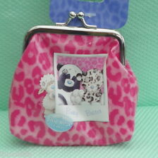 My Blue nose Friends *-* PANDA *-* PORTE MONNAIE CLIP ROSE * WALLET *