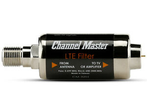 Channel Master LTE Filter Improves TV Antenna Signals Block Interference CM-3201