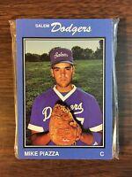 1989 Salem Dodgers MIKE PIAZZA (RC) HOF  Minor League Team Issued UNOPENED Set