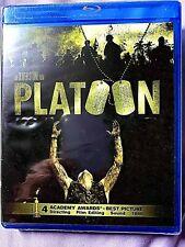 Platoon (Blu-ray Disc, 2011) - Tom Berenger, Charlie Sheen, Willem Dafoe