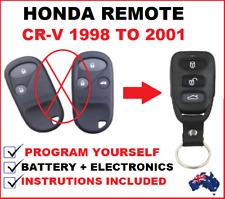 HONDA CRV CR-V REMOTE CONTROL FOB KEYLESS ENTRY 1998 1999 2000 2001
