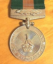 SOUTH AFRICA SUID AFRIKA MEDAL FOR LONG AND EXEMPLARY SERVICE