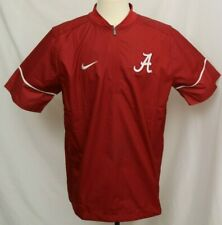 New Alabama Crimson Tide Nike Football Sideline Short Sleeve Hot Jacket Men's XL