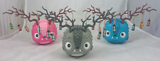 Luna 3 colorway lot 6.5-inch vinyl figure by The Bots Blue Pink Gray Urban daily