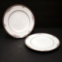 "Set of 2 Noritake ONTARIO  8 1/4"" Salad Plate- Fine China- #3763 Dining Ware"