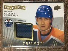 Wayne Gretzky 2014-15 Trilogy Tryptichs Equipment Bag #74/75 C'D T-STAR2