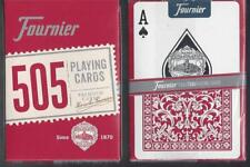 1 DECK Fournier 505 RED playing cards