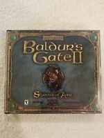 Baldur's Gate II Shadows of Amn PC CD-ROM Forgotten Realms (Bioware - 2000)