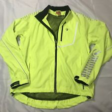 Bontrager Men's Commuting Rainshell Cycling Jacket Safety Yellow Size 9219