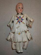 Vintage Carlson? Native American Indian Doll Girl