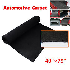 40'' x 79'OEM Quality Automotive Carpet Black Van Car RV Interior lining carpet