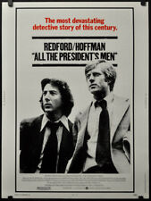 ALL THE PRESIDENT'S MEN 1976 ORIG 30X40 MOVIE POSTER ROBERT REDFORD WATERGATE