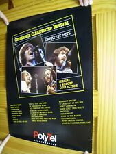 Creedence Clearwater Revival Poster CCR Greatest Hits Band Shot Collage Vintage