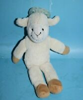 """Pacimals Leslie the Lamb 10"""" Plush Soft Baby Toy Holds Pacifier Stuffed Lovey"""