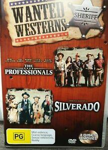 The Professionals + Silverado (DVD) 2 Disc - VGC