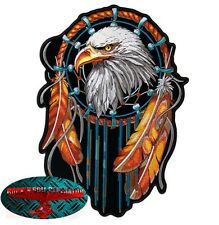 EAGLE DREAMCATCHER Indietro Patch Toppa Biker Moto Rocker Adler USA