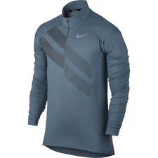 Nike Dry Element Half Zip GX Men's Running Top, Gr. M, blau, Neu mit Etikett!!!