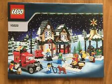 """Lego - 10222 """"Winter Village Post Office"""" 100% Complete But No Box"""