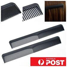 2pc/ Carbon Fiber Plastic Matte Grooming Styling Mens Barber Boys Unisex Salon