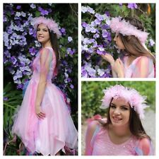 Teenager Girls Fairy Costume ~ Tulle Headpiece ~ Petite Party Dress ~ Theatre