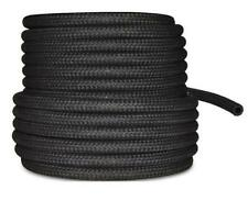 "10mm 3/8"" Car NBR Fuel Braided Hose Replacement Black Pipe Complete Repair Kit"