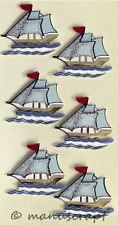 Artoz Artwork 3D-Sticker, Segelschiff