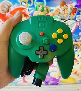 *OFFICIAL* Green Hori Mini Pad Wired Controller Nintendo 64 N64 *FAST* Shipping