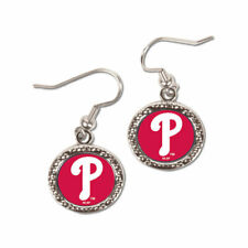 Philadelphia Phillies Round Earrings