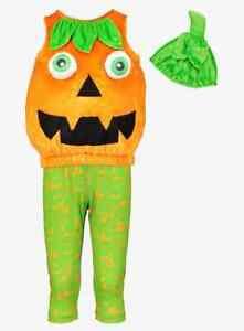 NEW TU Clothing Babies Halloween Petrifying Pumpkin Costume Age 9-12 Months