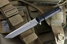 Kizlyar Supreme Aggressor AUS8 Steel Satin Tanto Fixed Blade Tactical Knife