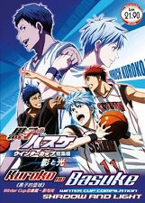 DVD Japan Anime Kuroko no Basuke Winter Cup Compilation Shadow and Light Movie