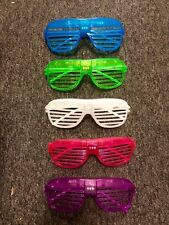 1Pc Light Up Shutter Glasses LED Shades Flashing Rave Wedding Party Supplies Hot